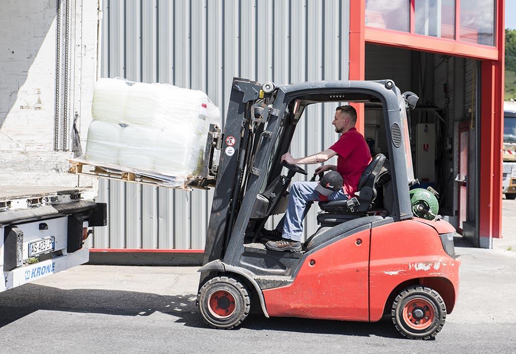Transport de déchets spéciaux conditionnés par Maillot SAS