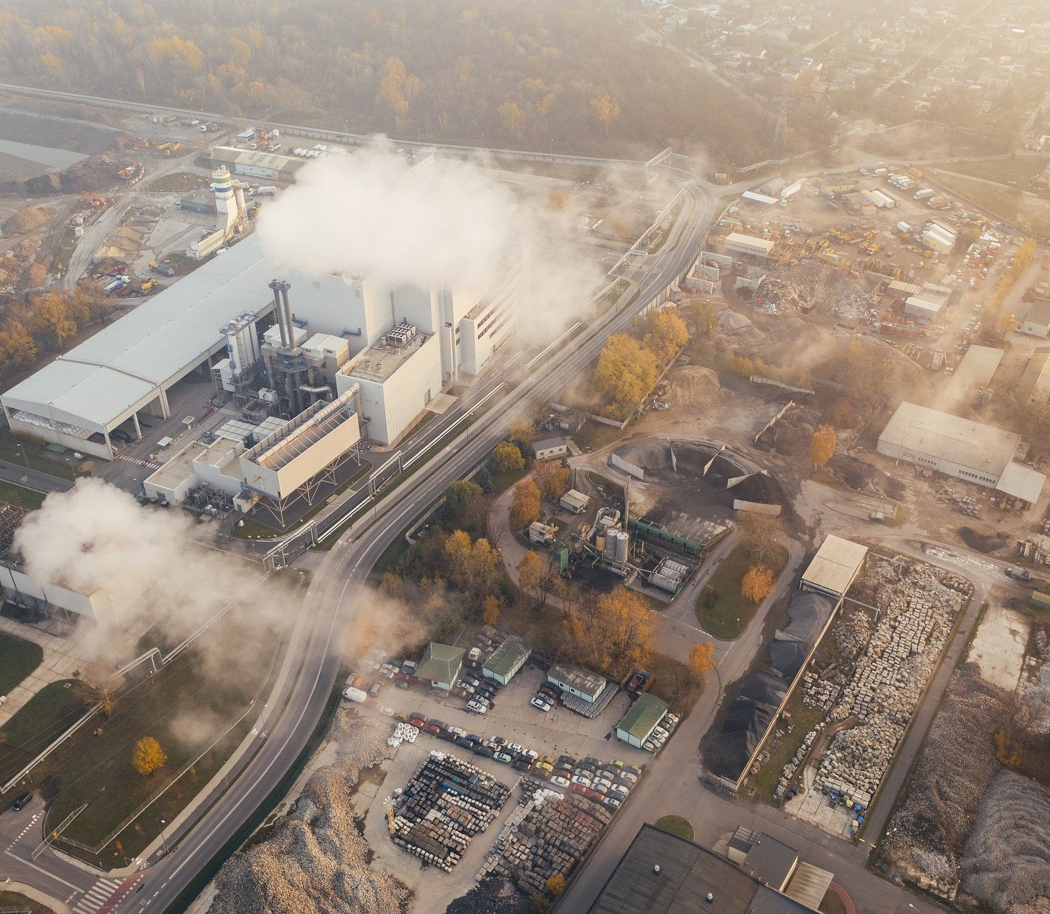 pollution site industriel