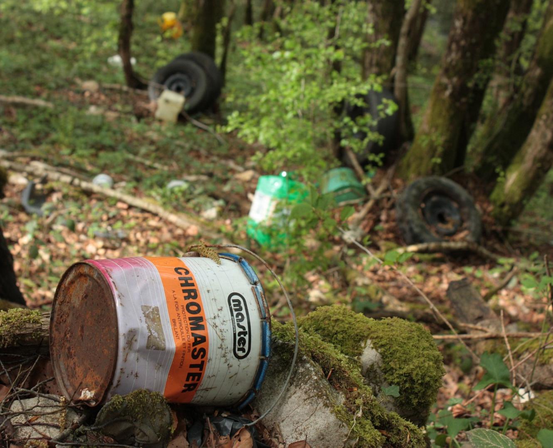 recyclage de déchets toxiques