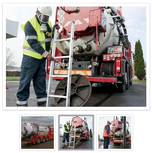Entretien et maintenance de Canalisation par Maillot SAS